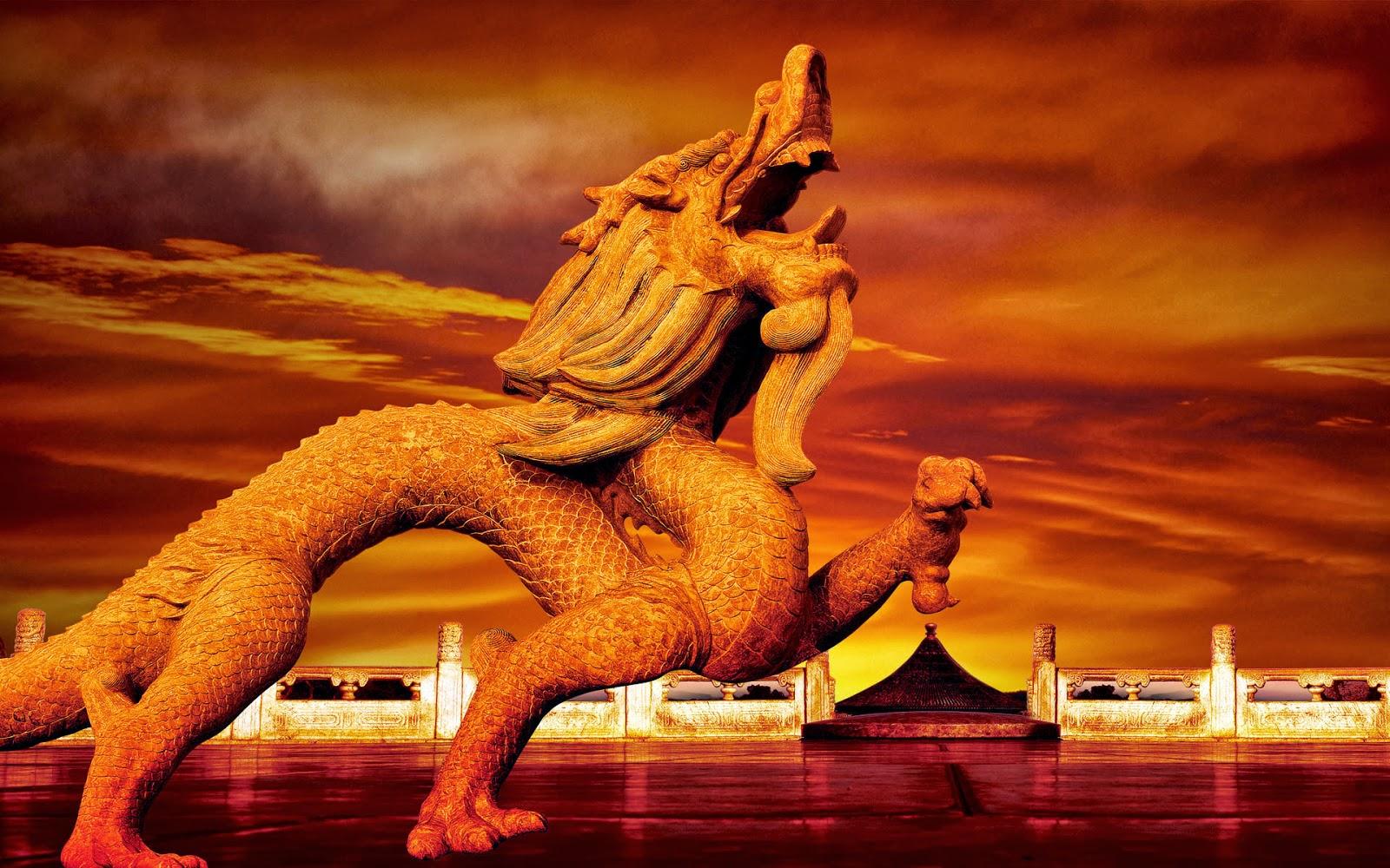 dragon-statue-in-china