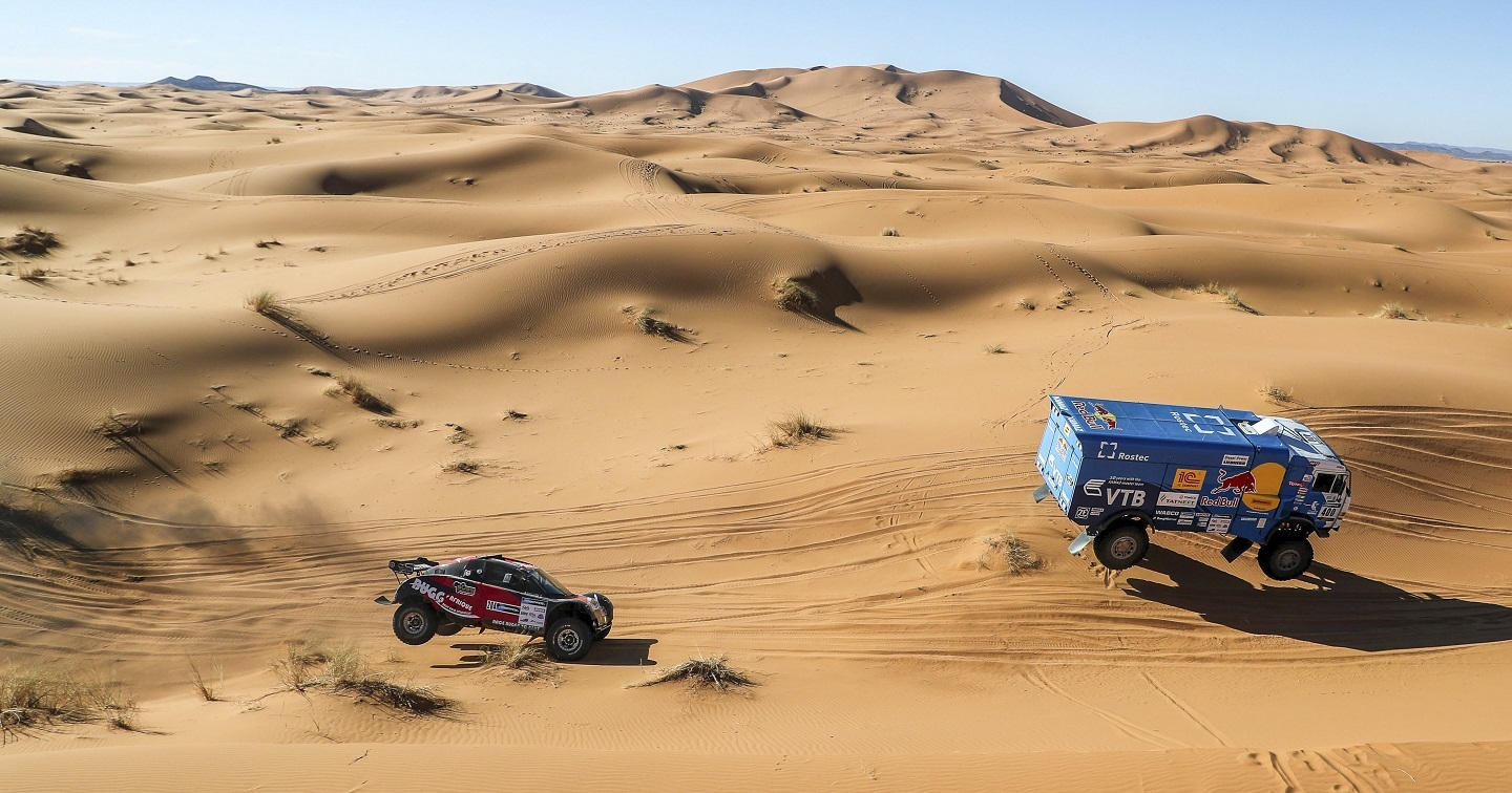 400 KARGINOV Andrey MOKEEV Andrey NIKITIN Dmitrii KAMAZ Action during the Africa Race 2017 from Monaco to Dakar,  December  31 to January 14th, Africa - Photo Jorge Cunha / DPPI