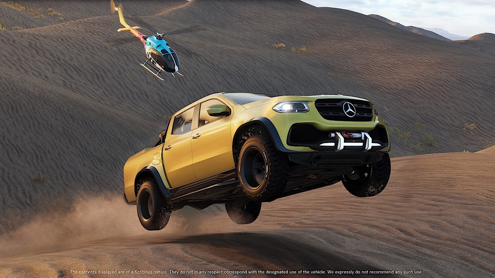 "Die Mercedes-Benz X-Klasse bekommt im neuen Videogame ""The Crew 2"" eine eigene Mission und ist das Offroad-Highlight des Spiels. ""The Crew 2"" ist ab 29. Juni 2018 erhältlich. Die Closed Beta-Version steht ab 31. Mai zur Verfügung. Dafür stellt Mercedes-Benz Vans exklusiv ab sofort 5000 Zugangscodes auf den Social Media-Kanälen zur Verfügung.   The Mercedes-Benz X-Class has its own mission in the new video game ""The Crew 2"" and is the off-road highlight of the game. ""The Crew 2"" goes on sale on 29 June 2018. The Closed Beta Version will be available from 31 May. For this purpose, Mercedes-Benz Vans is making 5000 access codes exclusively available on its social media channels as of now."