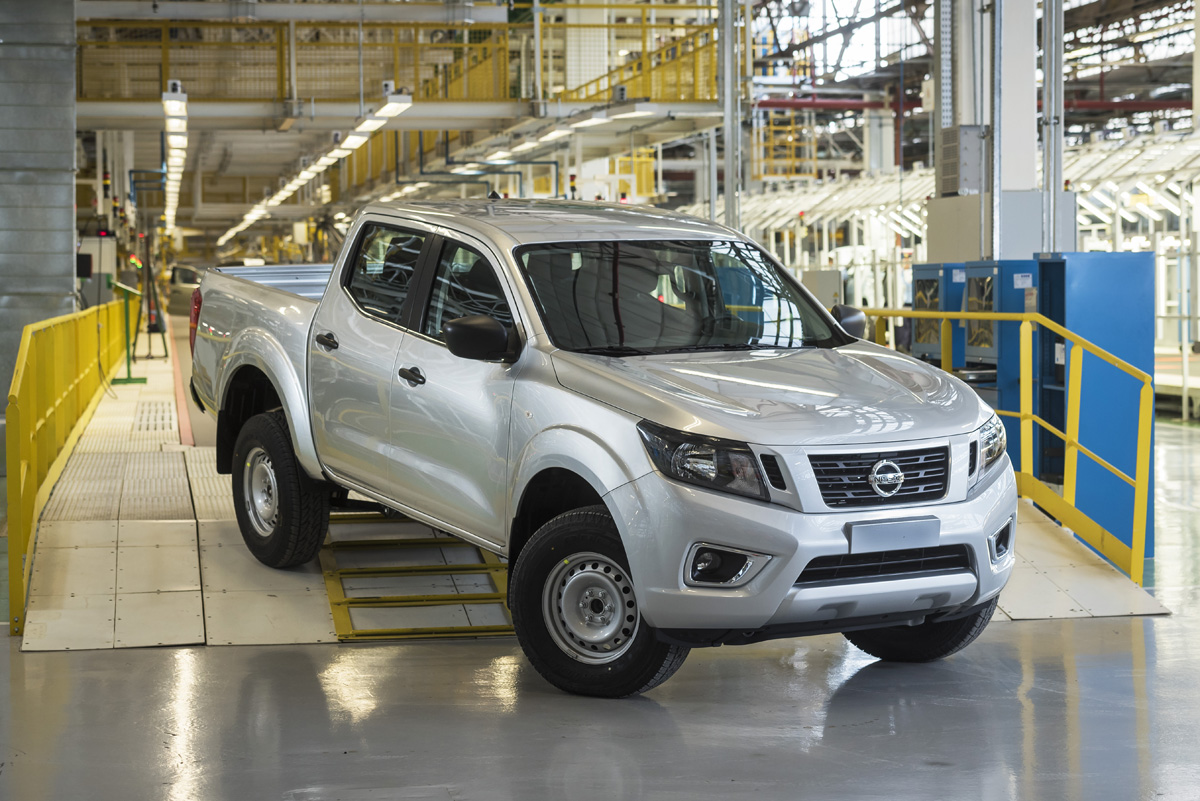 Nissan begins production of Nissan Frontier in Cordoba, Argentina