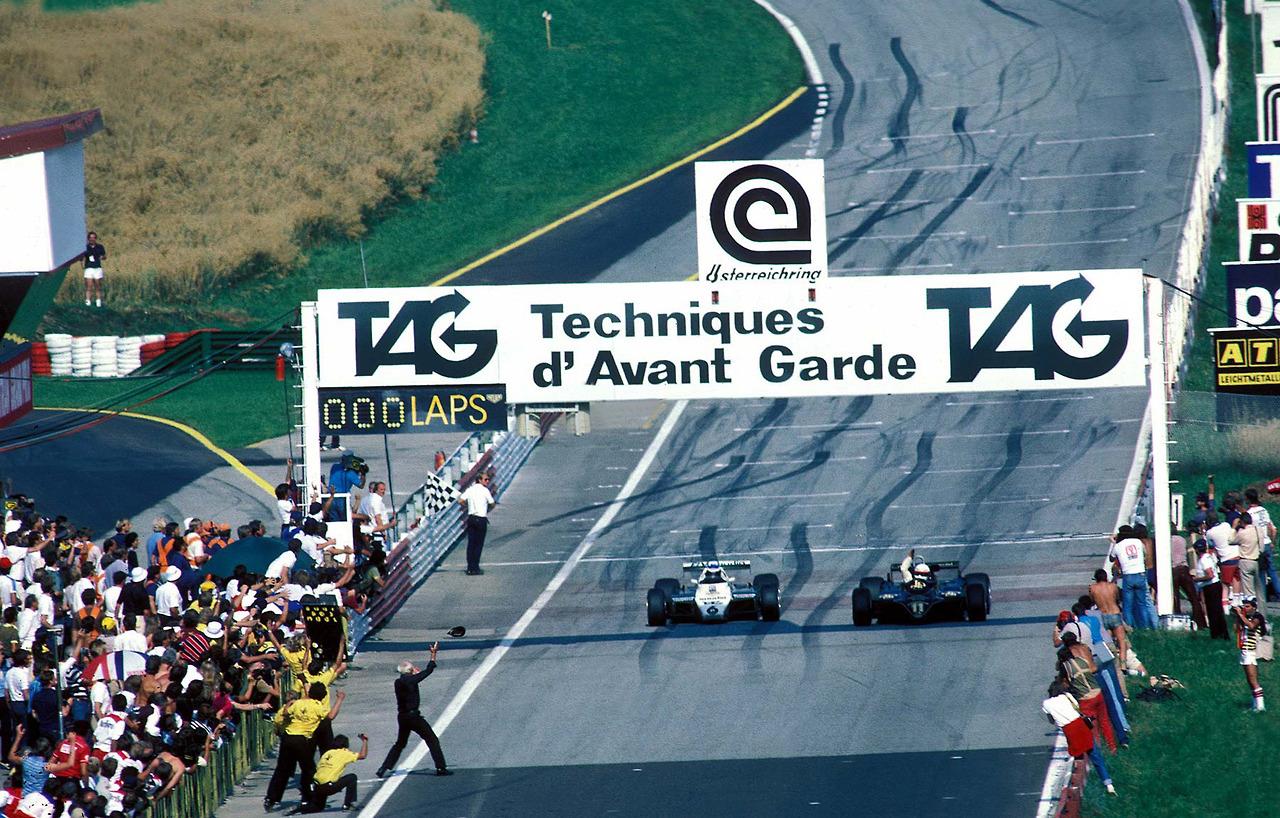 Lotus91. Elio_de_Angelis_1982_Austrian_Grand_Prix