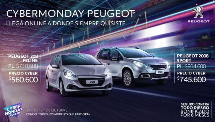 20181029 Cyber Monday Peugeot