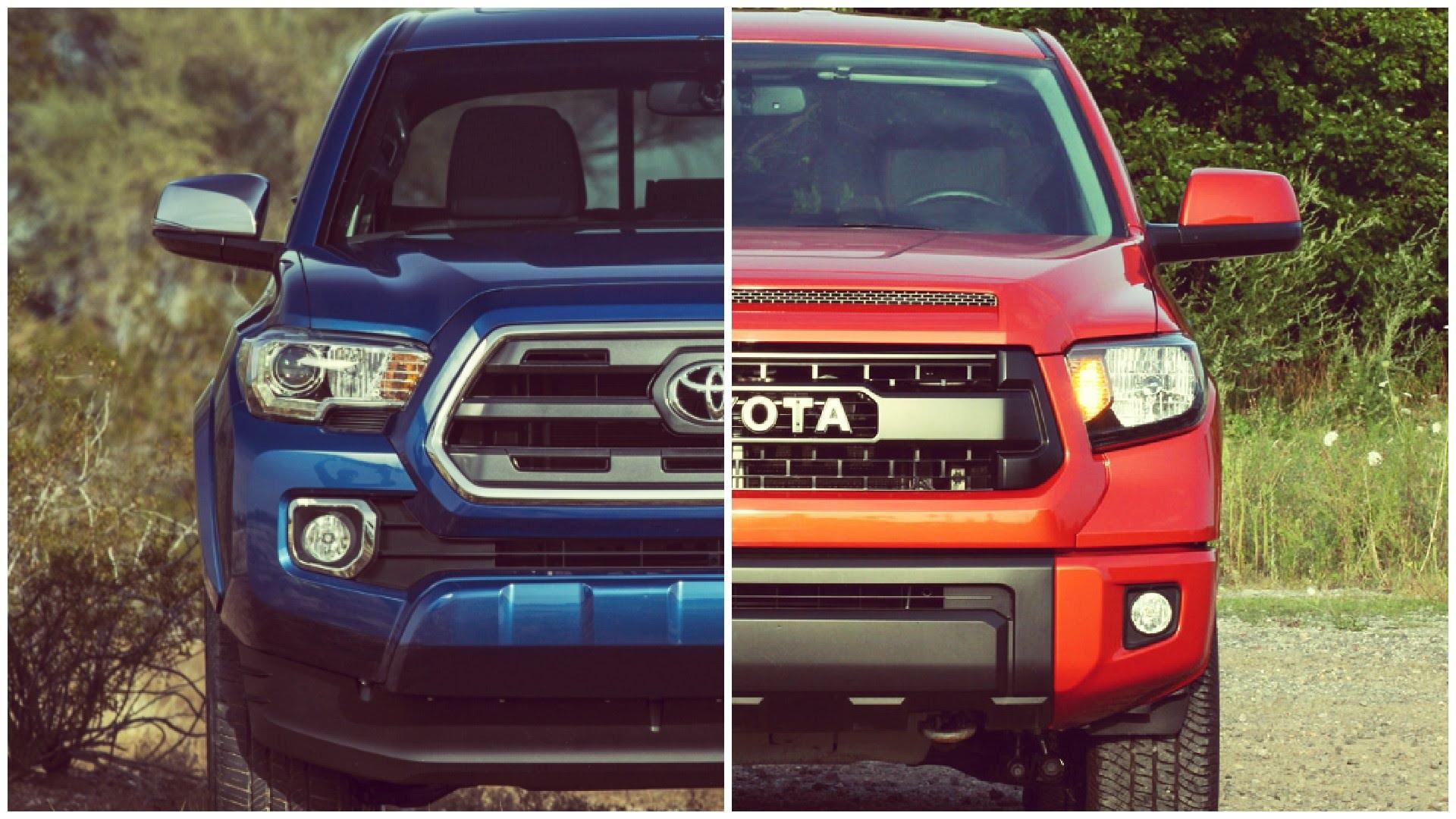 Toyota Tacoma Vs Tundra Elegant ta a vs tundra 2019 2020 new car specs