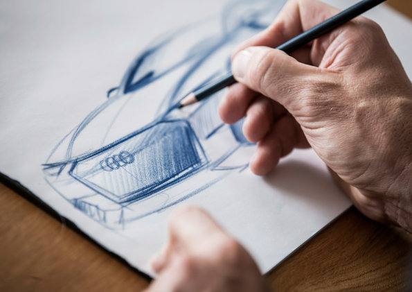AudiStream illustrates development and working methods of the design laboratories of Audi.
