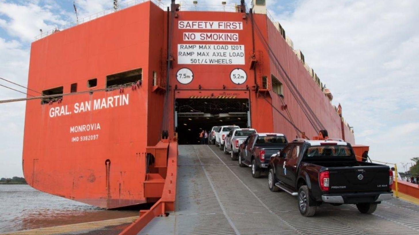 Nissan reinició exportaciones